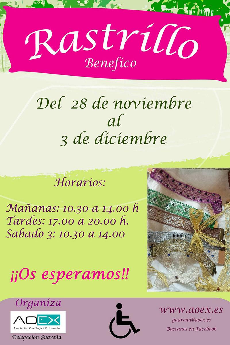 rastrillo-aoex-guarena-cartel2016