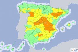 Alerta amarilla este viernes por temperaturas que rozarán los 39 grados