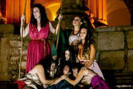 'Las Troyanas' protagonizan este domingo la primera actuación internacional de la Escuela de Teatro