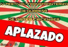 Cultura aplaza la celebración del cuarto Festival Circense de este año