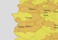 Vuelven las alertas por calor durante este miércoles y jueves en buena parte de Extremadura