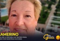 Abrimos por primera vez en la radio 'El Camerino', junto a la Escuela Municipal de Teatro, descubriendo a María Sosa