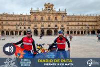 Pedales Solidarios: Diario de Ruta. Viernes 14 de Mayo