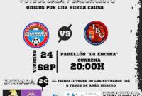 El Fútbol Sala y el Baloncesto Guareña se unen este viernes en un evento benéfico en 'La Encina'